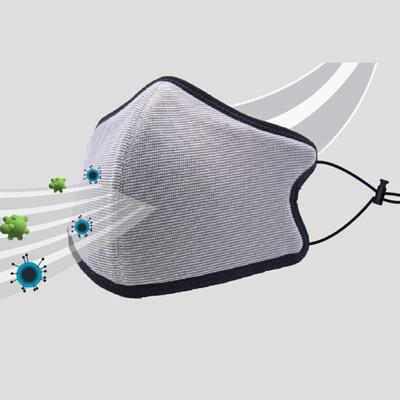 台灣製造MIT 3D銅鋅離子布口罩-可重複水洗 (2.2折)