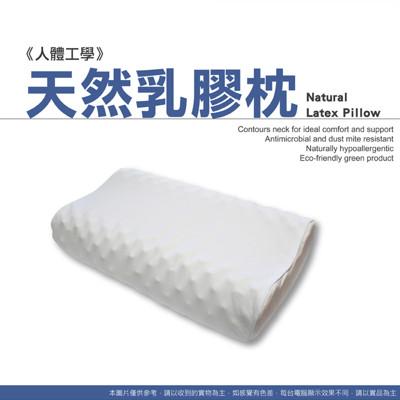 【床邊故事】人體工學100%天然乳膠枕 (4.8折)