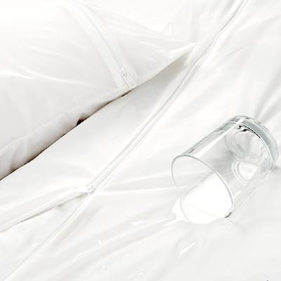 【床邊故事】國際認證-杜邦強效防水薄被套-單人4.5x6.5尺 (4.8折)