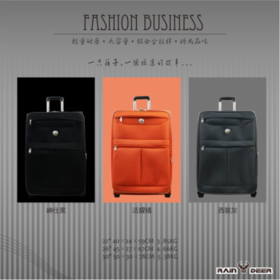 【RAIN DEER】30吋雙織時尚輕量防潑水商務旅行箱 (2.1折)