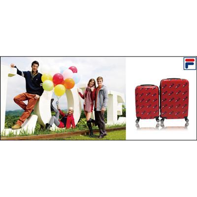 【FILA】24吋義大利品牌限量經典紀念款行李箱/拉桿箱-3色任選 (2.5折)