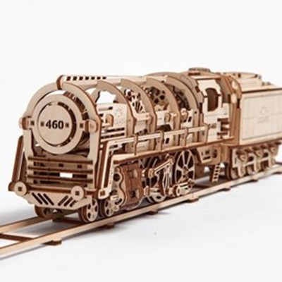Ugears -自我推進模型 Locomotive 蒸汽火車頭 (7.9折)