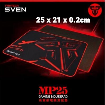 電競專用 FANTECH MP25 速度型防滑電競滑鼠墊 25x21x0.2cm (2.7折)