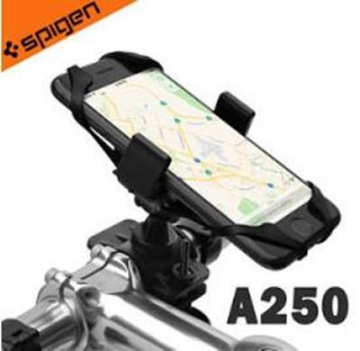 Spigen Velo A250 自由旋轉X型彈性固定自行車手機支架 (6.9折)