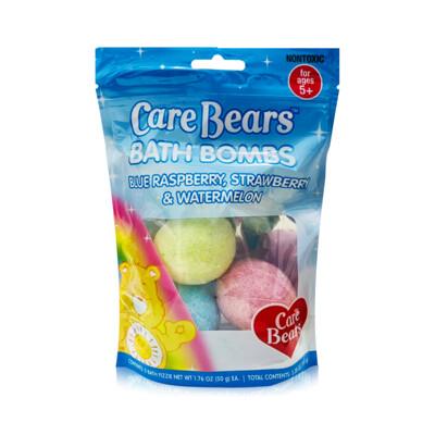 下單送口罩Care Bear 兒童沐浴球3入x50g
