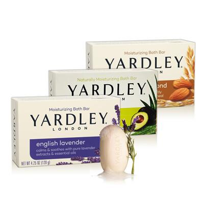 下單送口罩美國 yardley香皂(多款任選)-4.25oz (5.1折)