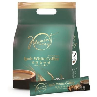 【分秒情懷】怡保白咖啡無糖二合一(4袋組)~良品出清 (3.2折)