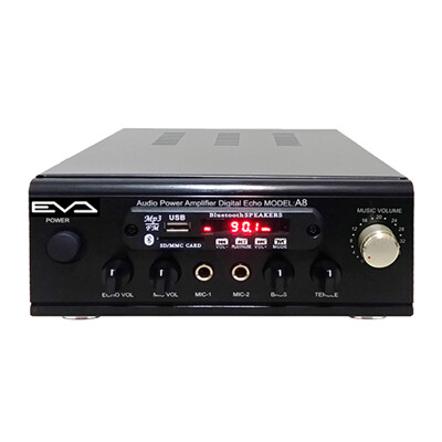 EVA 300W超大功率藍牙/USB/FM/SD/MP3/卡拉OK迷你擴大機 (4.3折)