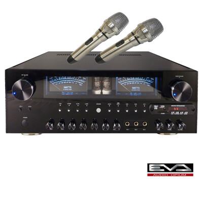 EVA旗艦級大功率500W真空管卡啦OK/USB/FM多功能擴大機 (6.7折)