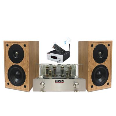 EVA HiFi真空管音響組-擴大機+喇叭+DAC (8.8折)