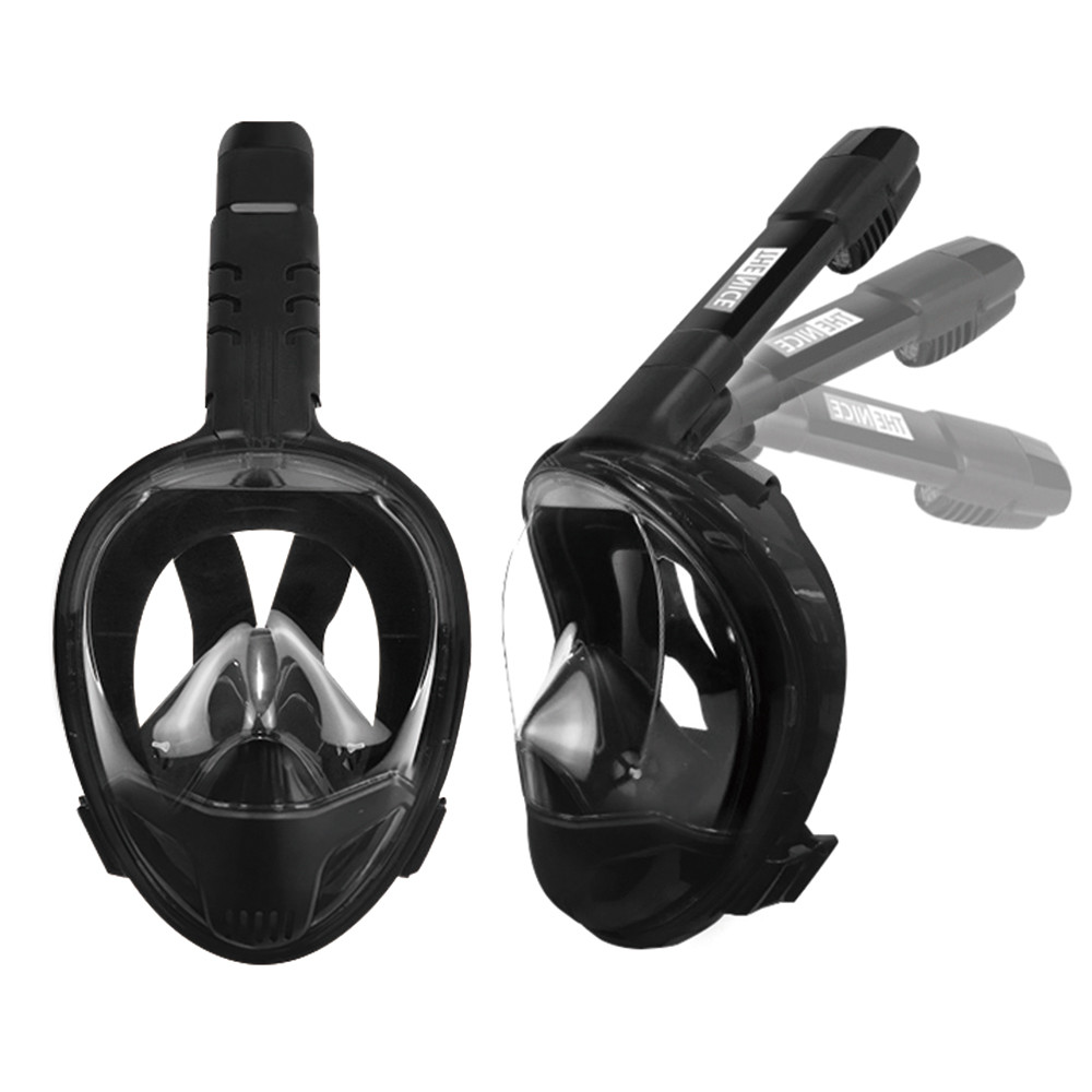 thenice雙管呼吸摺疊浮潛面罩