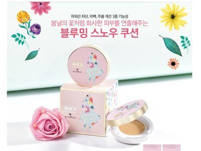 韓國BEYOND x ALICE愛麗絲春日幻境氣墊粉餅(本品*1+粉蕊15g*2) (4.4折)