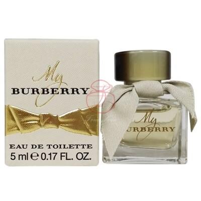 BURBERRY MY BURBERRY 女性淡香水 5ML【真愛香水】 (8.7折)