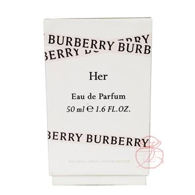 BURBERRY HER 女性淡香精 50ML【岡山真愛香水化妝品批發館】 (10折)