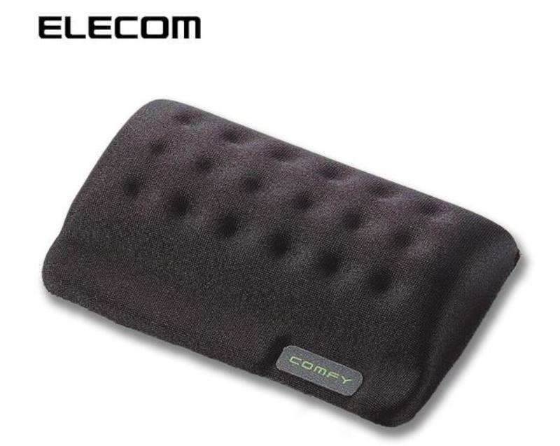 elecom comfy 舒壓滑鼠墊ii moh-013bk 舒壓護腕(黑) 手腕墊 護腕墊