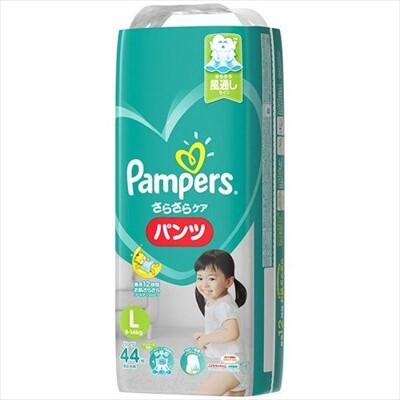 pampers全新幫寶適巧虎褲紙尿褲l44片(每箱4包)(全日文包裝) (9.1折)