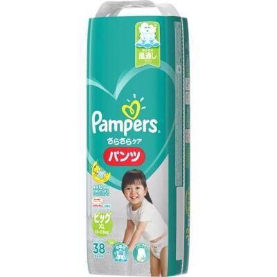 pampers全新幫寶適巧虎褲紙尿褲xl38片(每箱/4包)(全日文包裝) (9.1折)