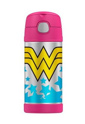 美國 THERMOS 膳魔師 不銹鋼保溫瓶 吸管水壺 兒童水杯 新款提把 (6.8折)
