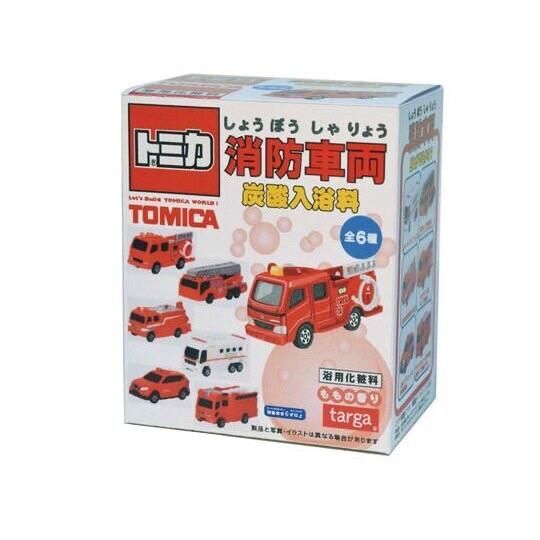 日本 bandai 消防車沐浴球 泡澡球 沐浴球 入浴劑 泡泡球 附玩具公仔隨機6款