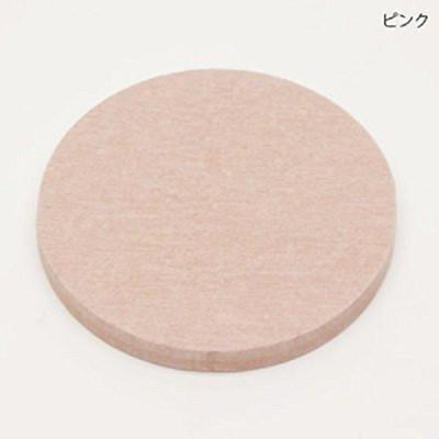 日本原裝進口 HIRO 珪藻土 圓形杯墊 硅藻土 快速吸濕 硅藻土 5入一組-粉色 (1.6折)