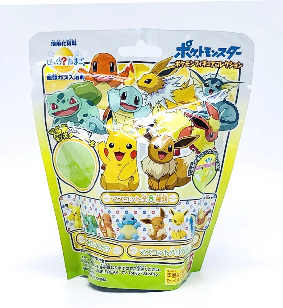 日本 pokemon 神奇寶貝沐浴球 沐浴球 沐浴球 泡澡球 入浴球 泡泡球 入浴劑