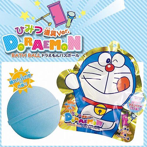 日本 哆啦a夢 小叮噹沐浴球 沐浴球 沐浴球 泡澡球 入浴球 泡泡球 入浴劑