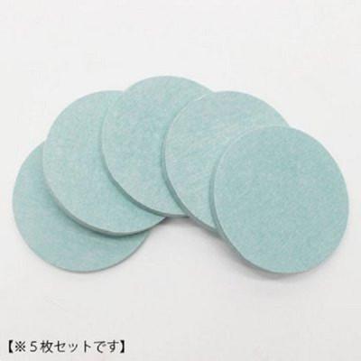 日本原裝進口 HIRO 珪藻土 圓形杯墊 硅藻土 快速吸濕 硅藻土 5入一組-藍色 (1.6折)
