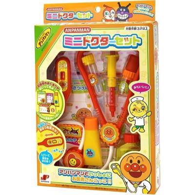 日本進口 麵包超人 Anpanman 醫生玩具 家家酒 醫護組 看診 聽診 溫度計 玩具 (9折)