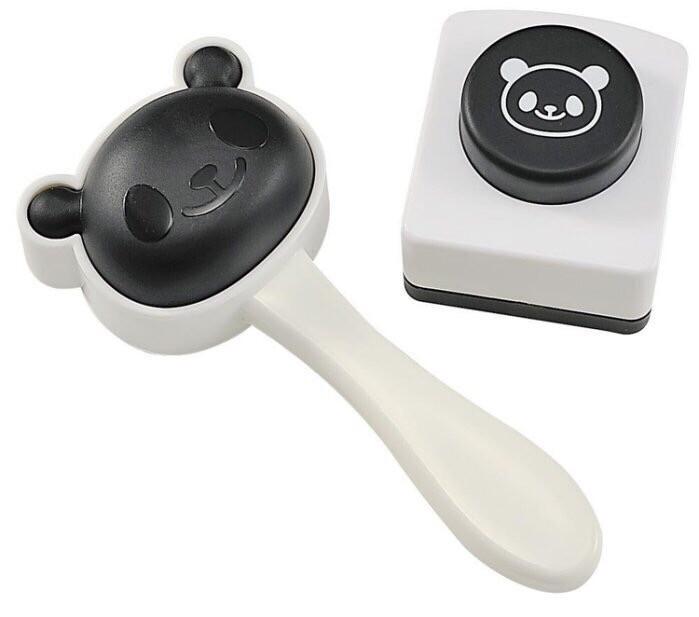 日本 arnest 可愛熊貓飯糰壓花模具 壓模器具 飯糰壓模 親子diy 海苔打洞器