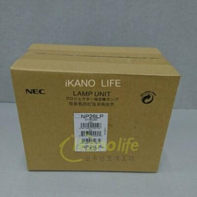 NEC-原廠原封包廠投影機燈泡NP26LP / 適用機型NP-PA672W-R (9.1折)
