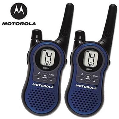 摩托羅拉MOTOROLA Walkie Talkie無線電對講機(2支裝)SX601 (7.5折)