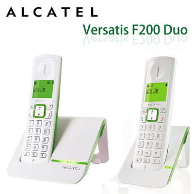 ALCATEL阿爾卡特 無線電話機 Versatis F200Duo 綠色 (8.6折)