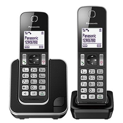 國際牌panasonic dect數位雙手機無線電話 kx-tgd312tw (8.9折)