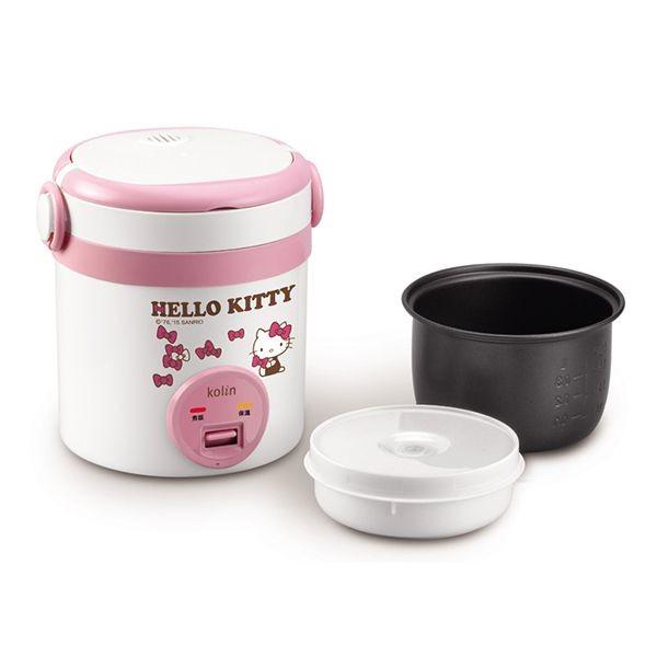 歌林Hello Kitty隨行電子鍋(一人份) KNJ-MNR1230 - 商品圖 2