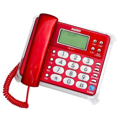 SANYO 三洋來電顯示有線電話TEL-813 (7.9折)