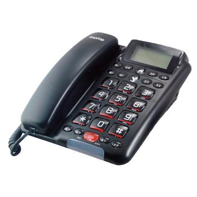 三洋SANYO 免持對講來電顯示有線電話TEL-011 (7.9折)