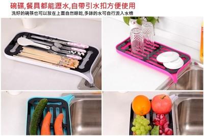好神奇廚房雙層多功能瀝水架(盤) (3.8折)