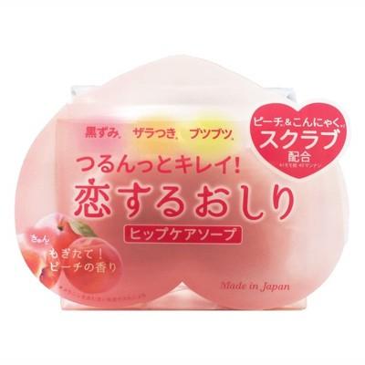 【PELICAN】日本製_蜜桃去角質保濕皂 80g《秀品屋》 (6.4折)