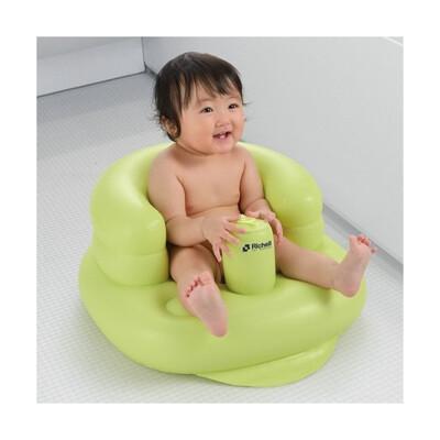 【Richell】寶寶充氣座椅 綠 (9.1折)