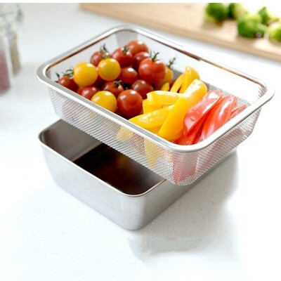 【Arnest】多功能不鏽鋼保鮮盒組-深型《秀品屋》 (7.8折)