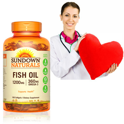Sundown日落恩賜 天然精萃深海魚油1200mg(100粒/瓶)★買2入即送好禮 (5.6折)