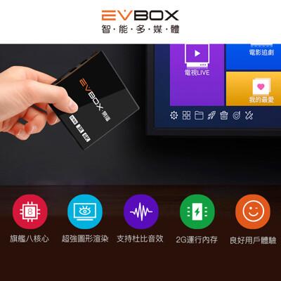 【送無線滑鼠】 EVBOX 3R 易播 電視盒 (2G+16G) 高規版 機上盒 (7.7折)