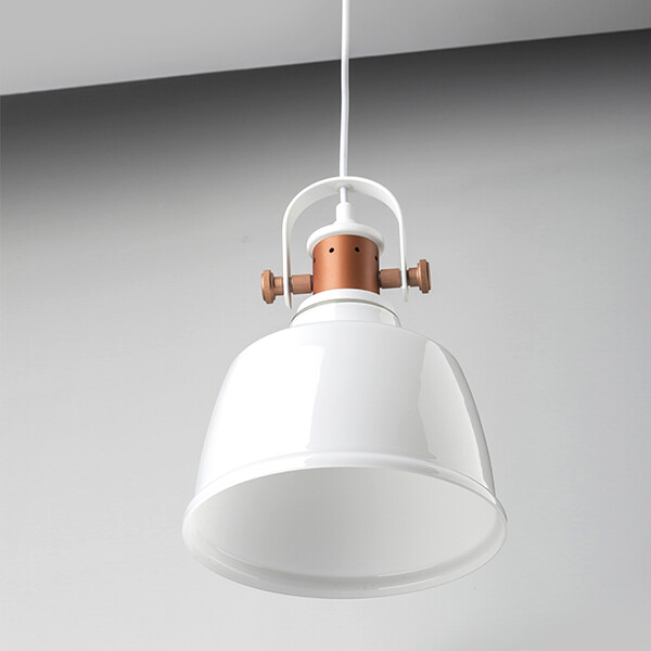 18park-格雷吊燈-10色 [白鋁燈罩,燈體灰]