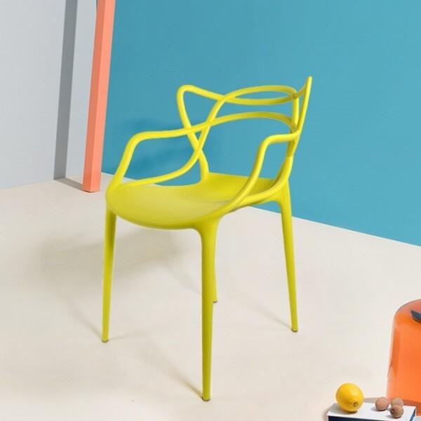18park-芒斯特餐椅-成人版 [塑料,白色]