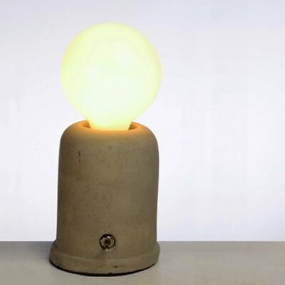 18PARK-泥磚檯燈 [全電壓,正方塊] (10折)