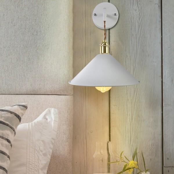 18park-粉視覺壁燈 [白色,220v]