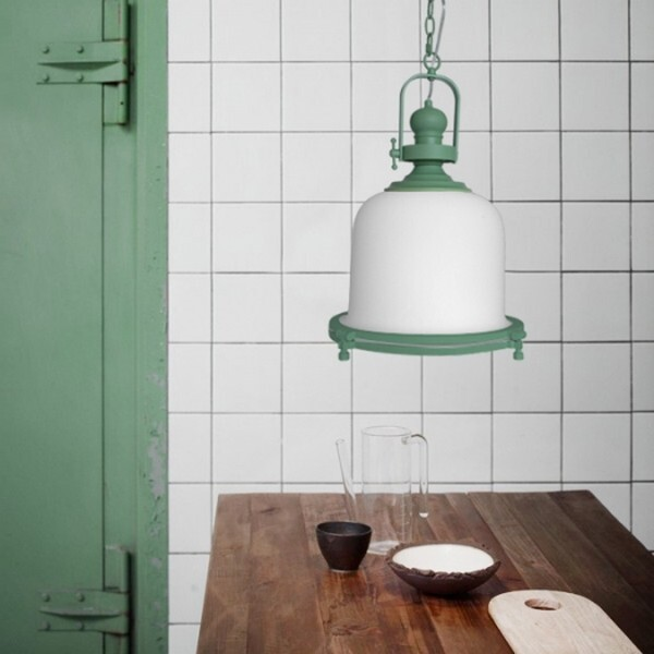 18park-粉工業吊燈 [金屬烤漆/玻璃,玫瑰金]