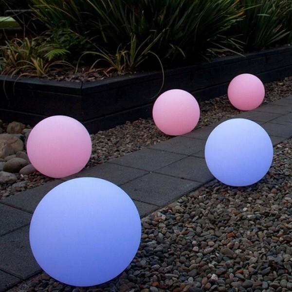 18park-珍珠球落地燈 [50cm,全電壓]