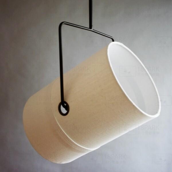 18park-安德森吊燈 [金屬/布罩,白色]