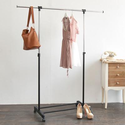 【ikloo】台製時尚單桿延伸曬衣架 (2.6折)